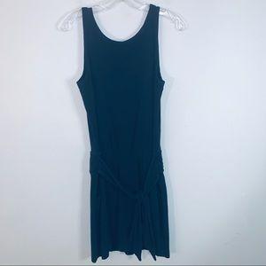 Theory Tank Dress Scoop Neck Blue Size S